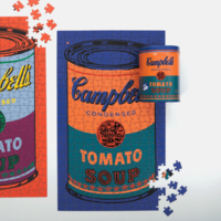 Puzzle | 300pc Canister | Soup Can Orange