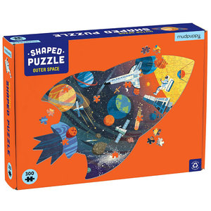 Chronicle Books Puzzle | 300PC Shaped | Outer Space