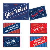 EEBOO Postcards | Give Voice