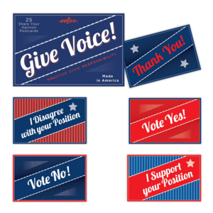 EEBOO Postcards | Give Voice