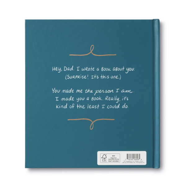 Compendium Book | Dad I Wrote A Book About You