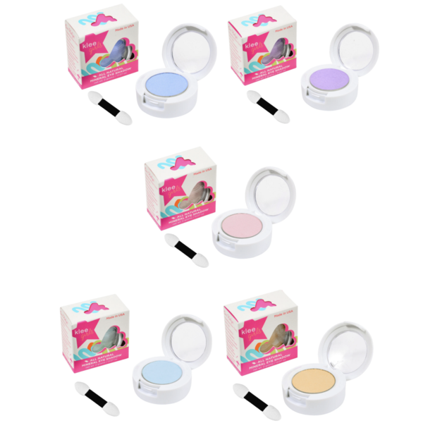 Klee Naturals Makeup | Pressed Eyeshadow Compact