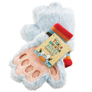Tickle Monster Plush Mitts