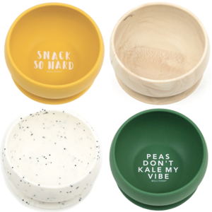 Baby Silicone Suction Bowls