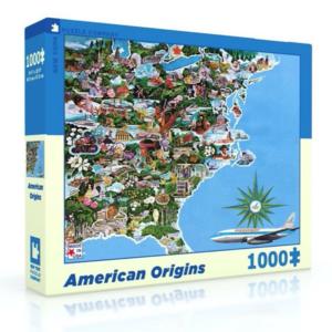 New York Puzzle Company Puzzle | 1000PC | American Origins