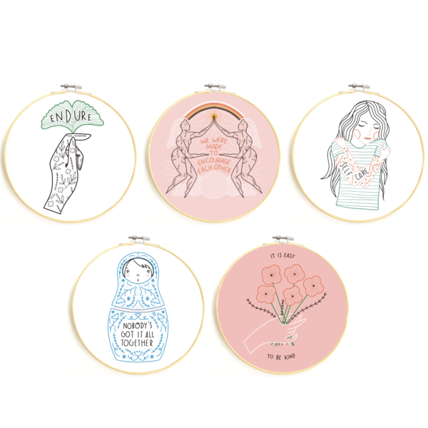 Embroidery Kits | Variety