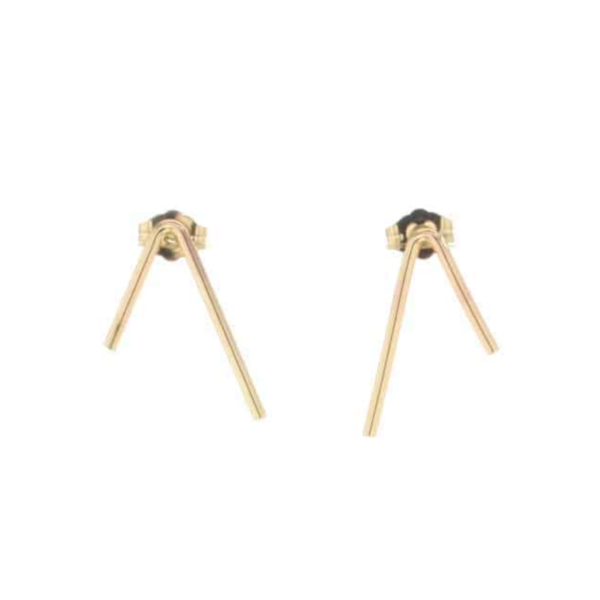 Earrings | Pulse | Gold