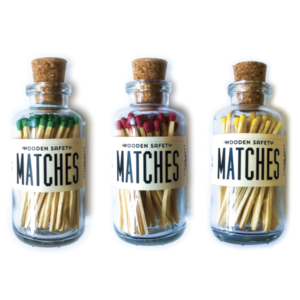 Made Market Co Apothecary Matches  | Mini