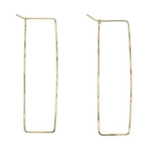 Earrings | Highwire Hoops | Gold