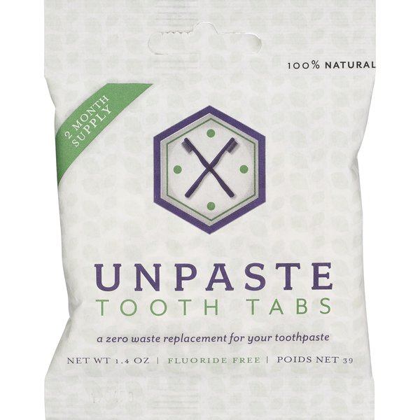 Unpaste Packet   Tooth Tabs   125 Count