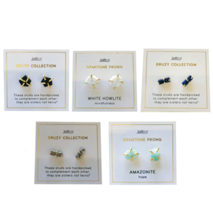 JaxKelly Earrings  | Gem Collection