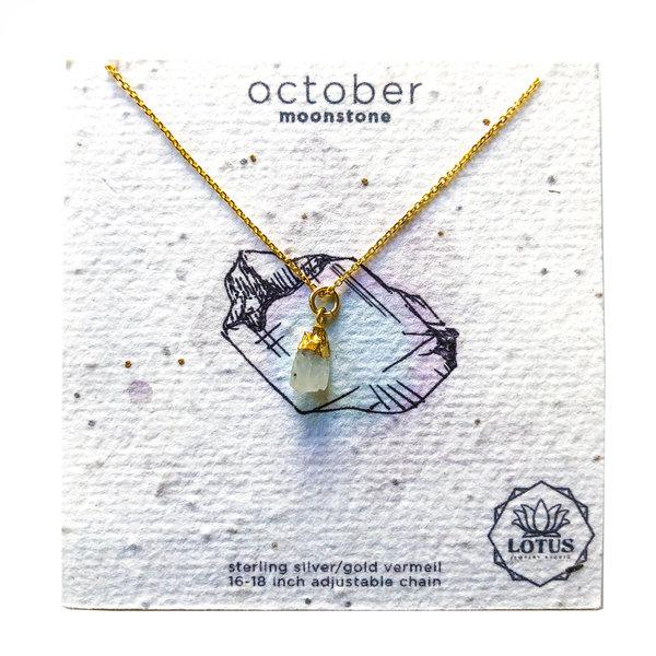 Lotus Jewelry Studio Necklace | Birthstones