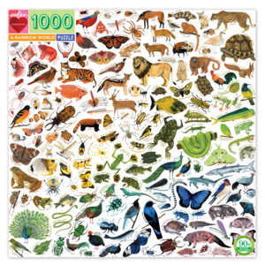 EEBOO Puzzle | 1000PC | Rainbow World