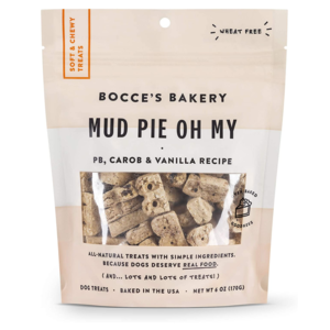 Bocce's Bakery Dog Treats | Soft & Chewy Mud Pie