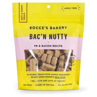 Bocce's Bakery Dog Treats | Bac'n Nutty Biscuits