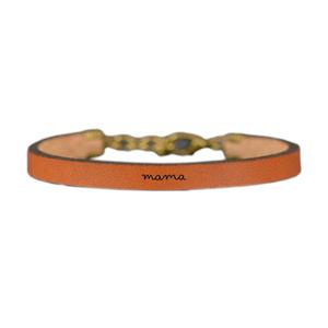 Laurel Denise LLC Bracelet |  Brown Leather | Mama
