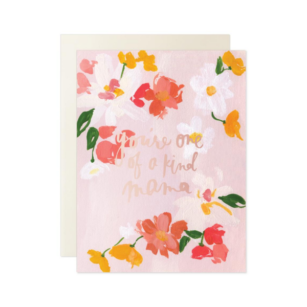 Our Heiday Card | You're One Of A Kind Mama
