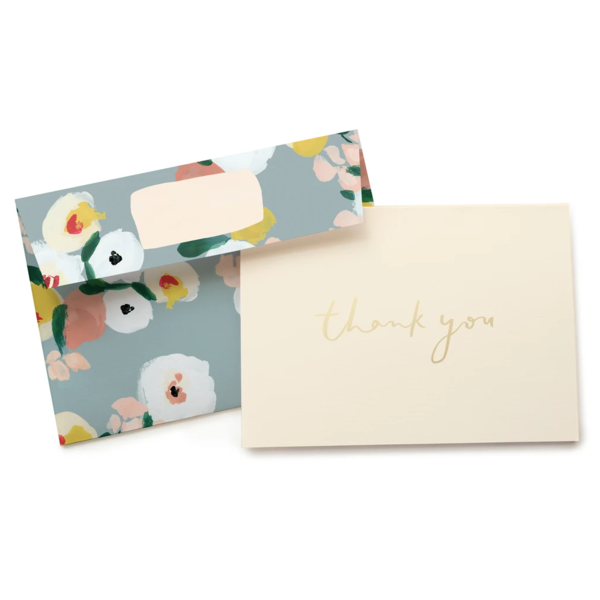 Boxed Thank You Cards | Dusk Florals