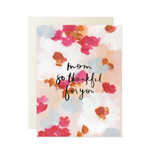 Card | Mom So Thankful For You