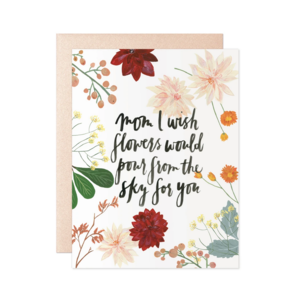 Our Heiday Card | Flowers For Mom