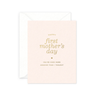 Smitten On Paper Card | First Mother's Day