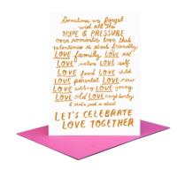 People I've Loved Card | Let's Celebrate Love