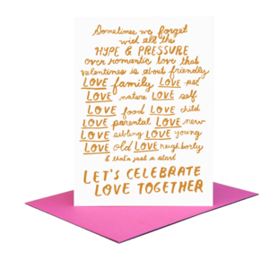 People I've Loved Card | Let's Celebrate Love