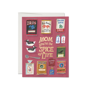 Red Cap Cards Card | Mother's Day | Spicy Mom