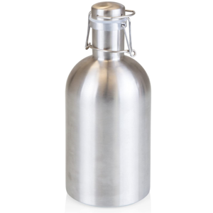 Picnic Time Growler | 64oz | Silver