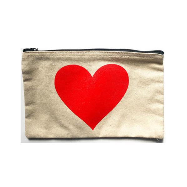 Seltzer Goods Bag Pouch | Big Red Heart