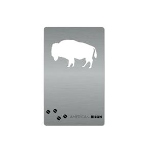 Zootility Tools Wallet Bottle Opener   Buffalo