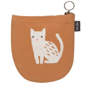 Now Designs Pouch | Halfmoon | Cat