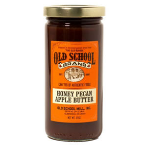Old School Brand Baking | Honey Pecan Apple Butter