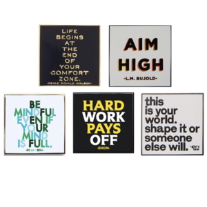 Quotable Cards Enamel Pins
