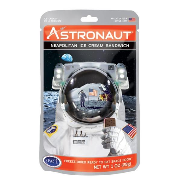 Astronaut Ice Cream   Neapolitan