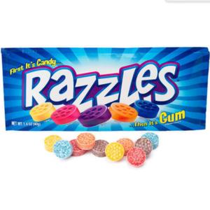 Nassau-Hobbs & Dobbs Candy | Razzles