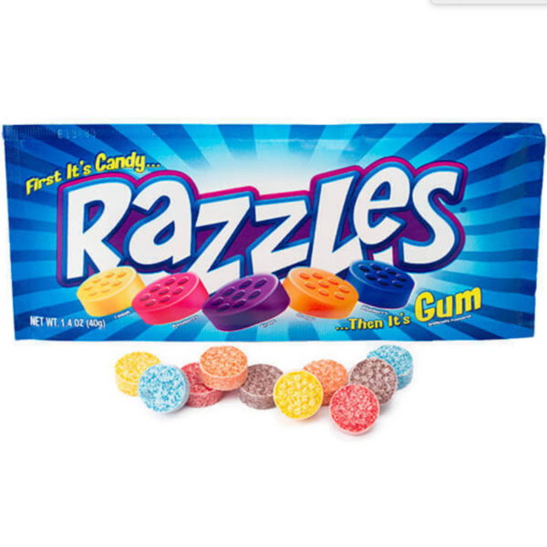 Nassau-Hobbs & Dobbs Candy   Razzles