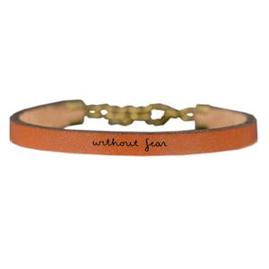 Laurel Denise LLC Bracelet | Leather Script