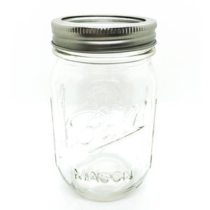 PLENTY Mason Jar | 16oz
