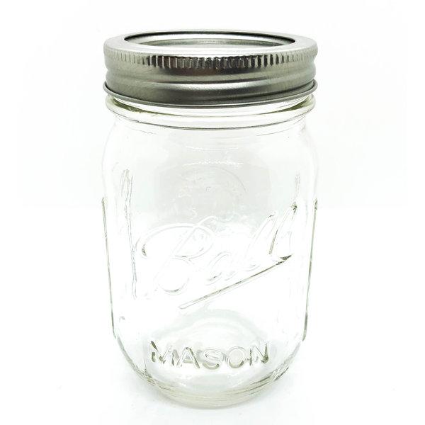 PLENTY Mason Jar | 16oz