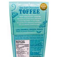 Sweetsmith Toffee   Chocolate Sea Salt   Sugar Free