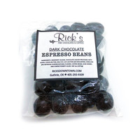 Rick's Fine Chocolates & Coffees Candy | Espresso Beans | Dark Chocolate