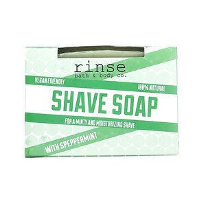 Rinse Bath & Body Shave Soap | Speppermint