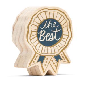 Wood Sign | Mini | The Best