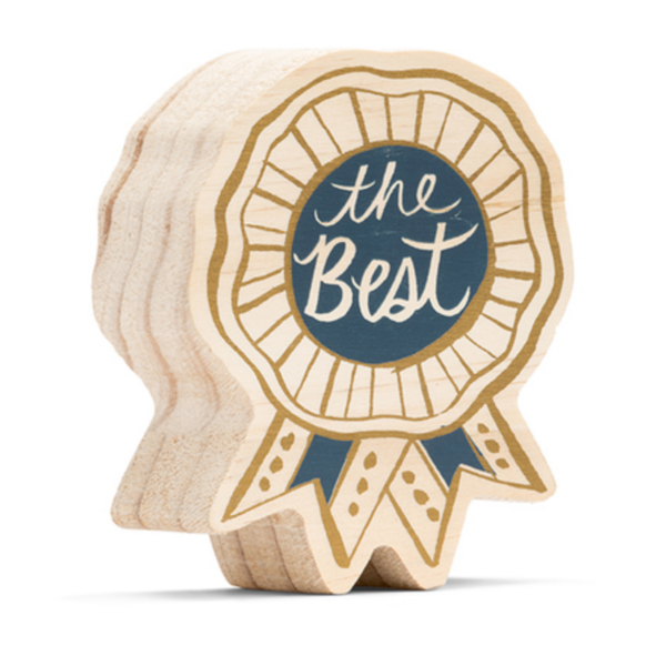 Compendium Wood Sign | Mini | The Best