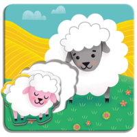 Chronicle Books Match Up Puzzles | Farm Babies