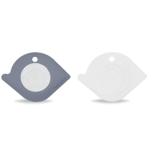 Full Circle Home Pan Scraper Duo | White