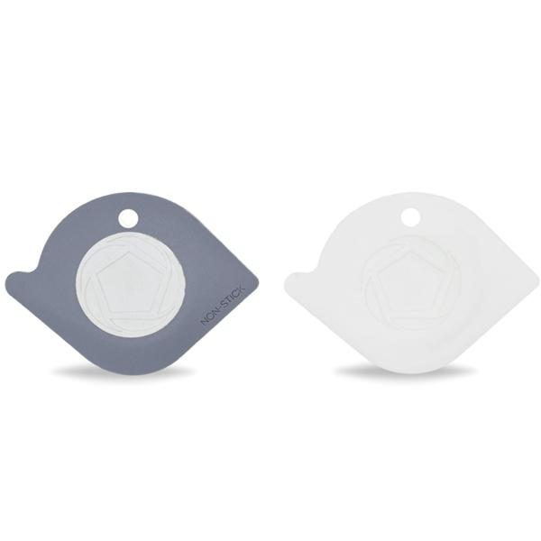 Full Circle Home Pan Scraper Duo | White