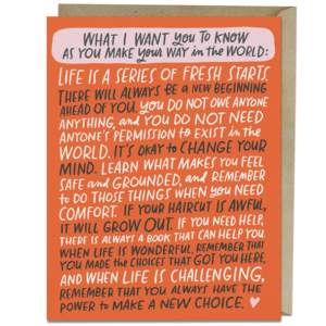 Emily McDowell Card | Make Your Way