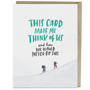 Card | We Would Never